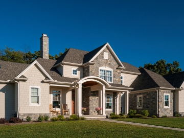 custom home by farinelli construction