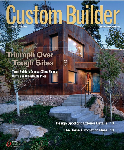 Custom Builder Magazine Farinelli Construction