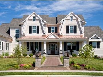custom home front