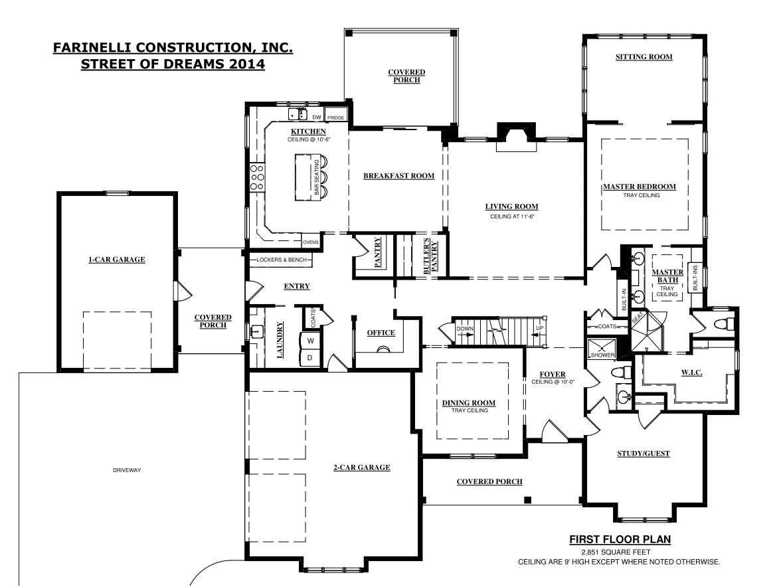 Home Builder Interactive Floor Plans: Harrisburg Home BuilderFarinelli Construction Inc