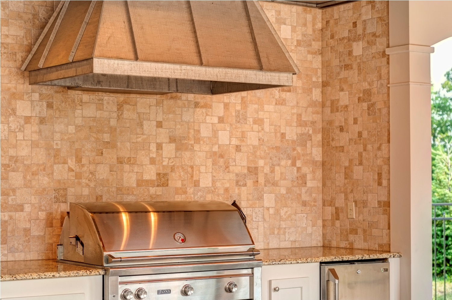Grill Backsplash