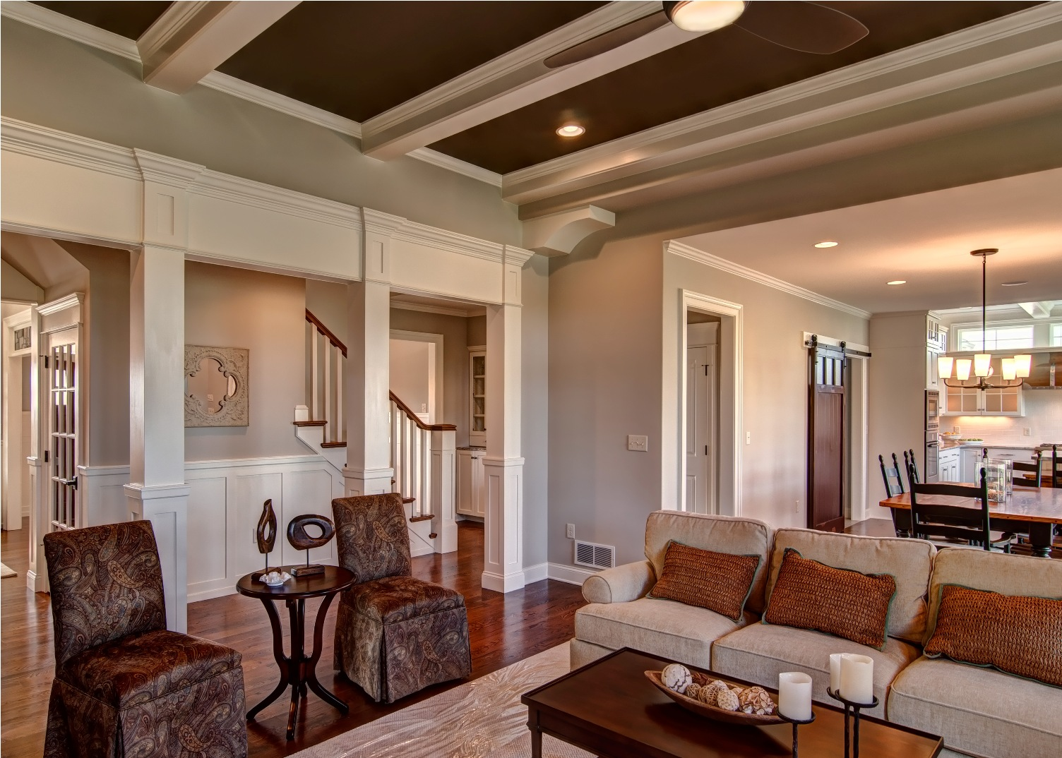 tray ceiling living room custom home in mechancsburg harrisburgfarinelli 14603