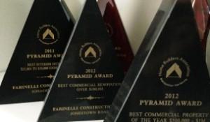Pyramid award