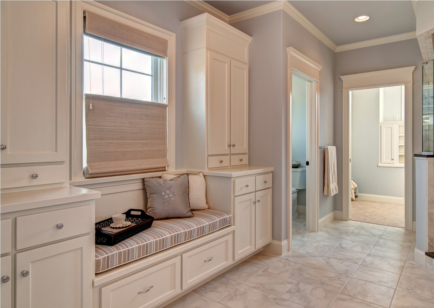 master bath builtin
