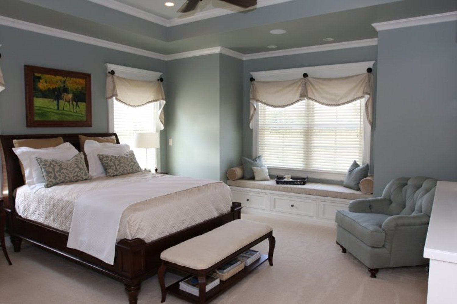 master bedroom blue